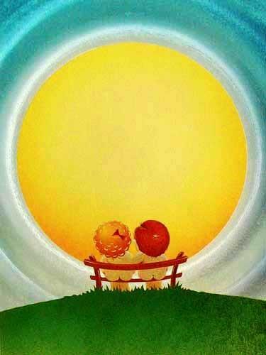 Kinder und Sonne
