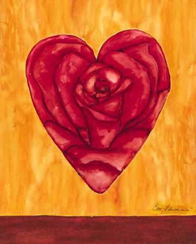 Rose im Herz *