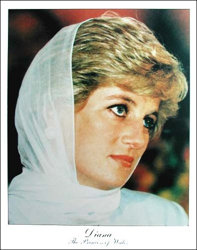 Prinzessin Diana Poster