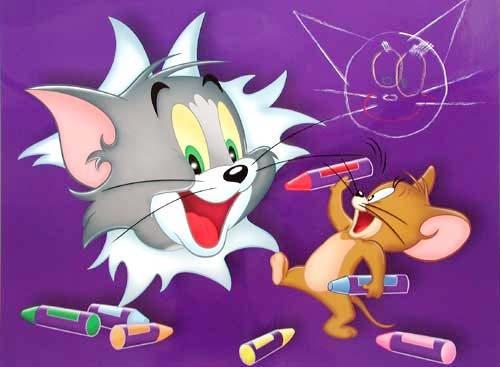 Tom und Jerry (laminiert) *