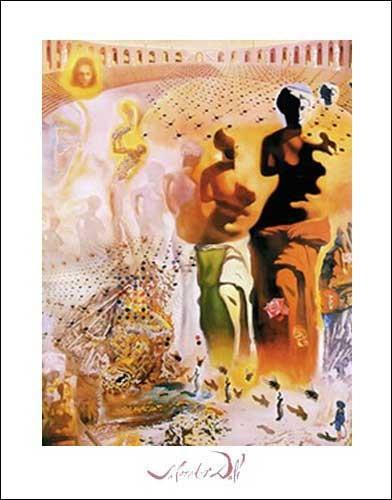 El Torero Hallucionogene, Dali Kunstdruck 50x70