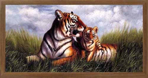 Tiger, Mother`s Love