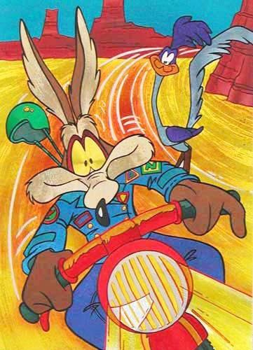 Looney Tunes Postkarte