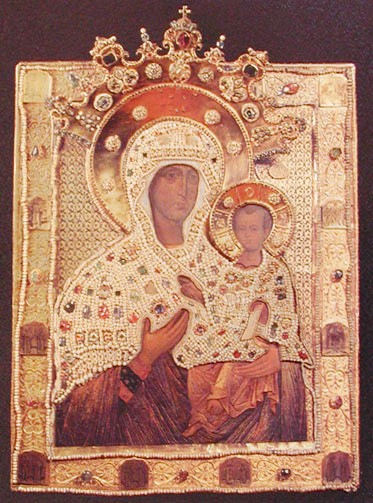 Icon of the Virgin by Kremlin Museums, Moscow