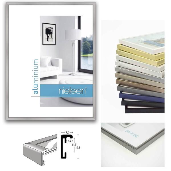 Nielsen Aluminium Bilderrahmen 24 x 30 cm, Classic