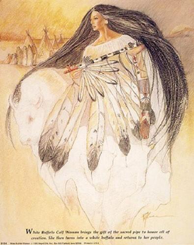 Die Prophezeiung der weißen Büffelkalbfrau Poster