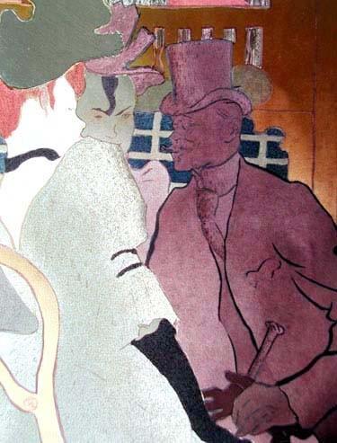 Der Engländer im Moulin Rouge Bild