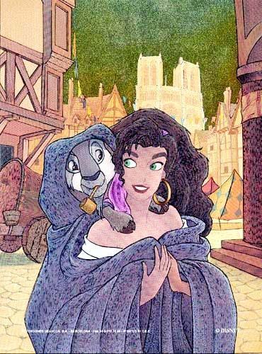 Esmeralda Postkarte
