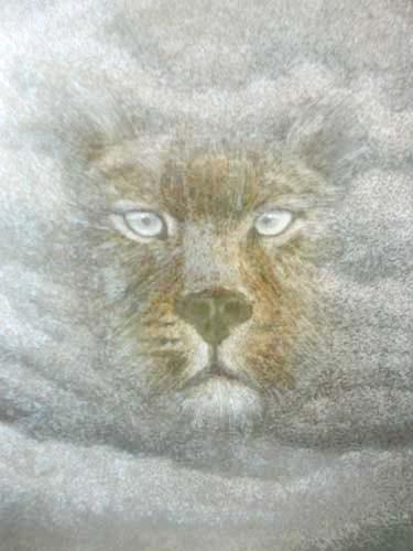Löwin Fantasie