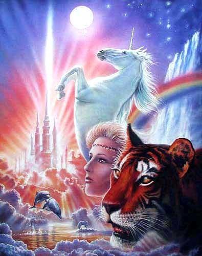 Königreich der Fantasie, Alu Bild