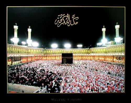 Mecca the Venerable - Mekka bei Nacht