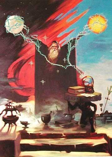 Zauberer, Black Wizard