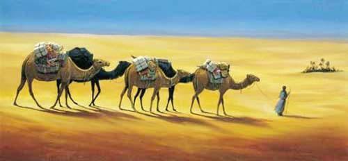Tuareg, Karavane Druck