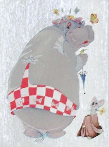 Hippo- Feine Dame