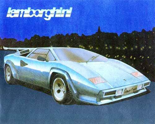 Lamborghini Contach weiß