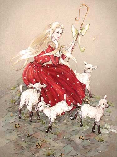 Shepherdess by Jean Henry