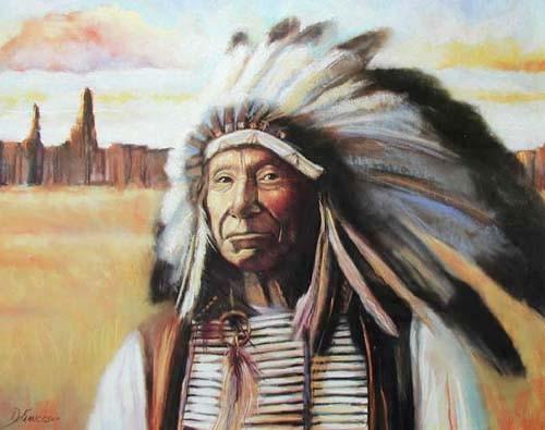 Red Cloud by De Francesco