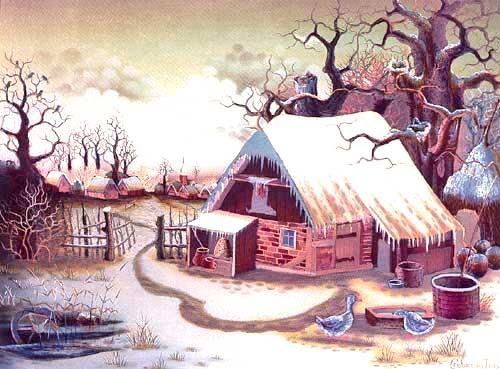 Winter von Ivo Cencovcan, Alu Bild
