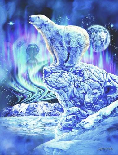 Eisbär Fantasie Bild