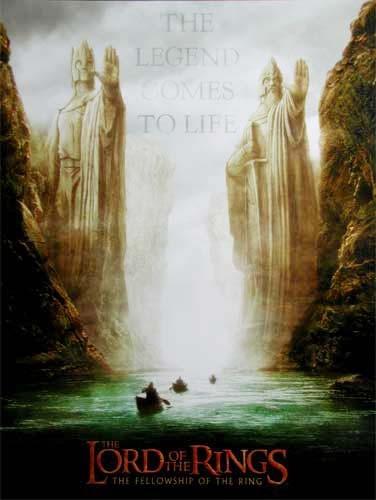 Der Herr der Ringe, Die Gefährten - Poster