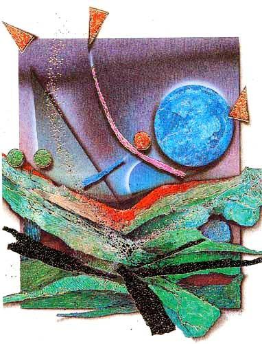 Abstrakt II by H. Wierma