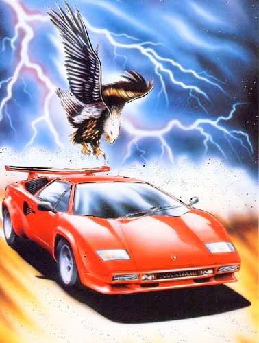 Lamborghini und Adler