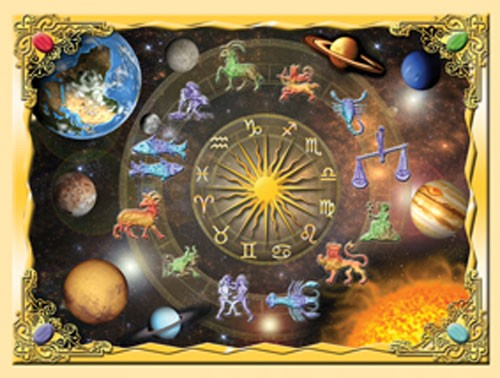 Astrologische Zeichen Alu Bild