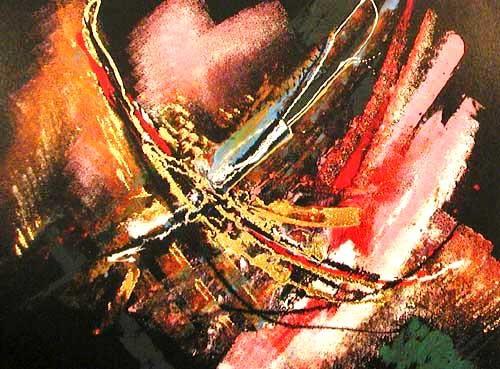 Abstraktes Bild 15x20