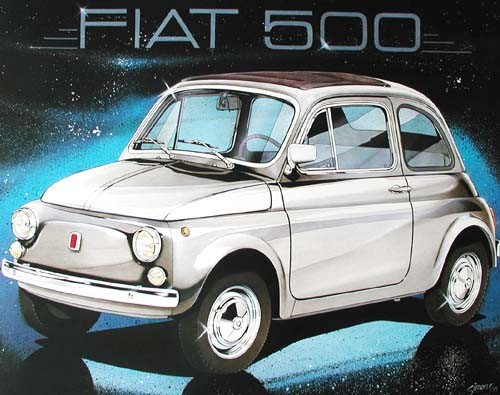 Fiat 500 by Simons