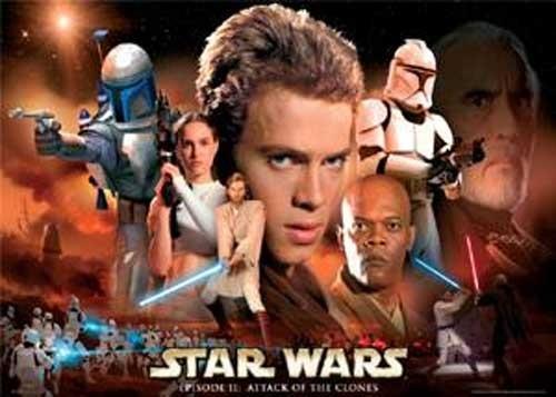 Star Wars Querformat, Episode II Poster