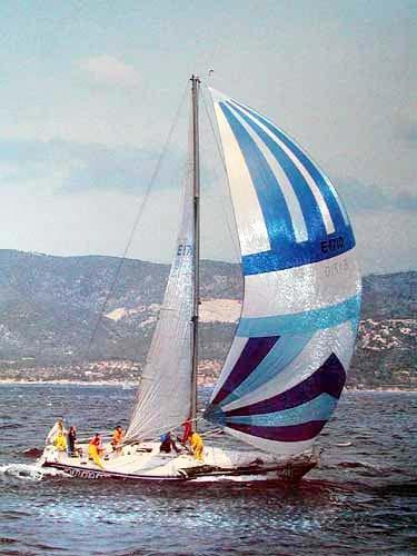 Segelschiff - Heimreise - Alu Poster