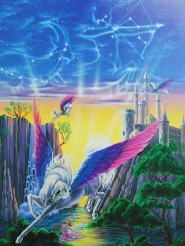 Pegasus Castle by Sue Dawe