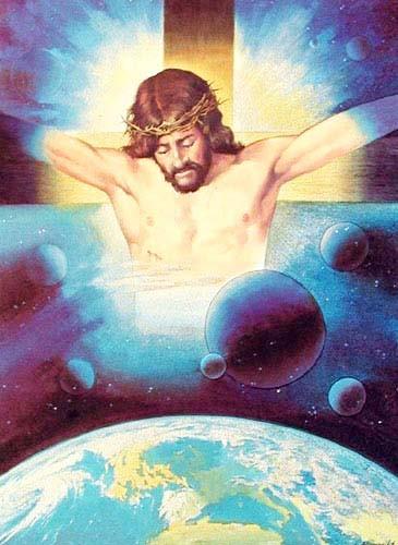 Jesus on Cross by Bargallo