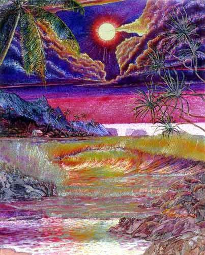 Midnight Beach by Dick Kearney