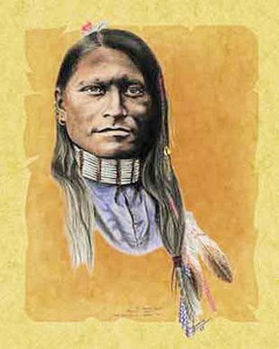 Red Armed Panther Cheyenne, Scout