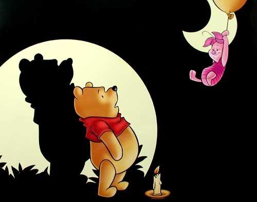 Winnie Puuh und Pglet Poster