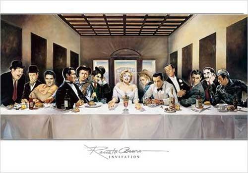 Kunstdruck Invitation 70x100 cm Renato Cassaro