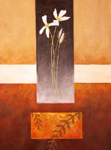 Blumen, Flor con Hojas Secas I, S. Sauci