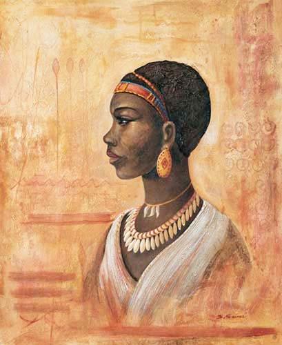 Afrikanische Frau Bild