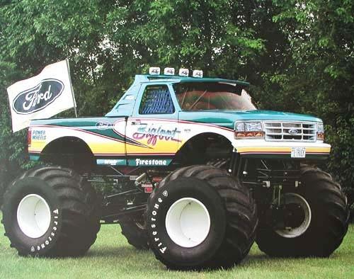 Big Foot, 1993 Ford racing