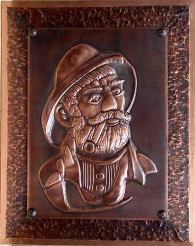 Friesekopf Kupferbild