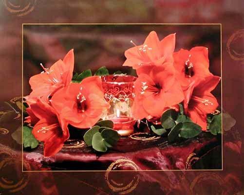 Stilleben mit Lilien