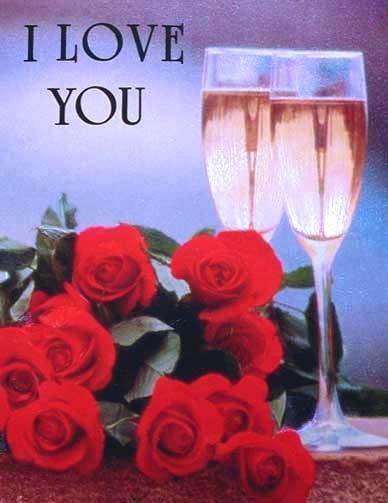 Ich Liebe Dich, Alu Bild