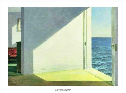 Zimmer mit dem Meersblick, 1951 Kunstdruck
