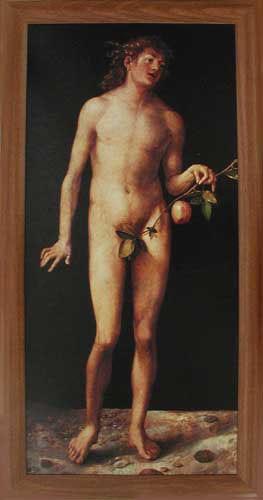Wandbild Adam