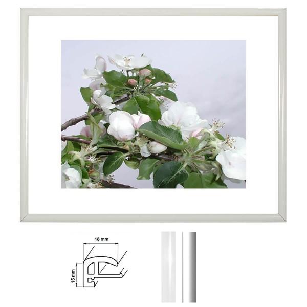 Kunststoff Bilderrahmen DIN A3, Profil 18 mm