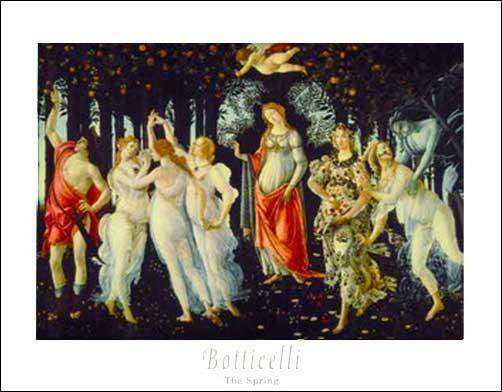 Der Frühling Sandro Botticelli