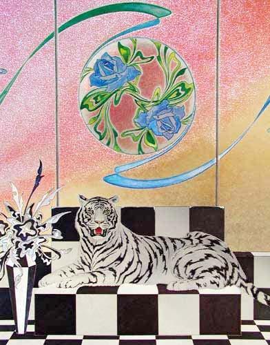White Tiger by Carlos de Asumendi