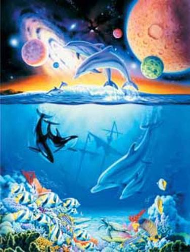 Delphine, Orcas, Cosmic Ocean