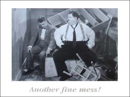 Laurel und Hardy Poster